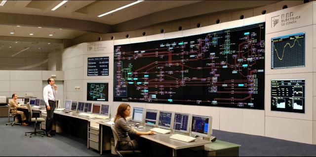 Centro de Control de Eléctrico (CECOEL) de REE