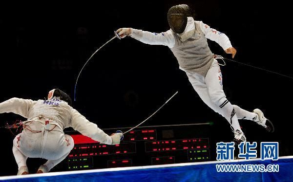 Final de esgrima en Guangzhou 2010: Choi Byung Chul gana la medalla de oro