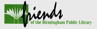 Friends of the Birmingham Public Library logo