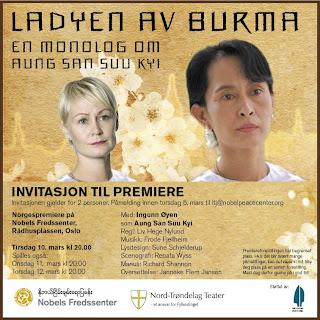 >Opra to honor Daw Suu and fellow political prisoners
