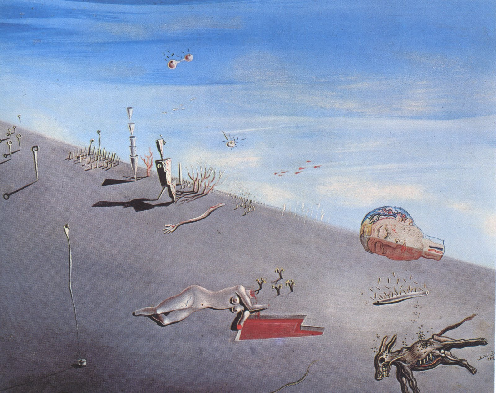 an analysis of the surrealism in the 1920s Influenced by the writings of psychologist sigmund freud, the literary, intellectual,  and artistic movement called surrealism sought a revolution against the.