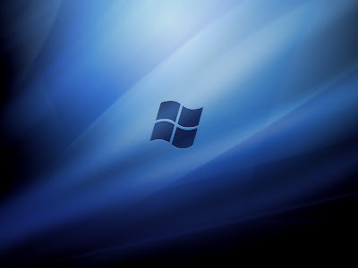 Backgrounds For Windows Vista. Wallpaper Black And Blue