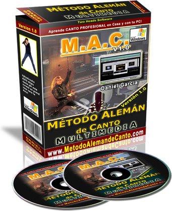 MAC2008 340 Metodo Aleman de Canto. Aprende de manera rapida y facil a Cantar.