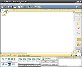 Packet Tracer v5.0 Español, Software Simulador de Redes con la