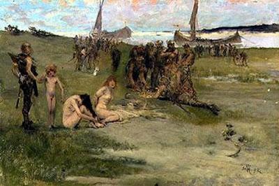 Painting History Viking Raids