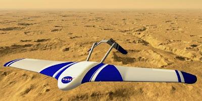 El avión Ares de la Nasa, diseñado para estudiar la atmósfera de Marte