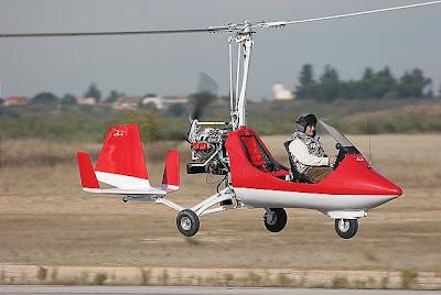 Autogiro ELA-07 Casarrubios