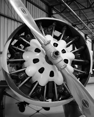 Motor en estrella del Peashooter P-26