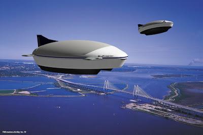 Imagen artística del SkyFreighter