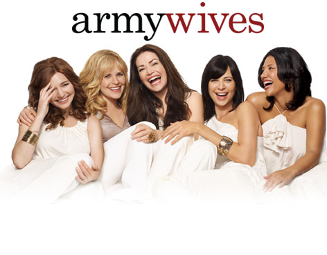 that follows the lives of four army wives their families and an army