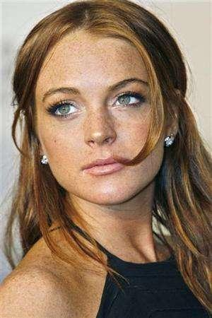 lindsay lohan white dress at court. LINDSAY LOHAN WHITE DRESS IN