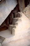 Piedra abstracta - la escultura Inca.
