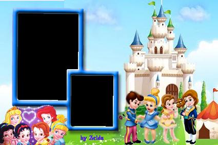 Marcadores: Baby Princesas
