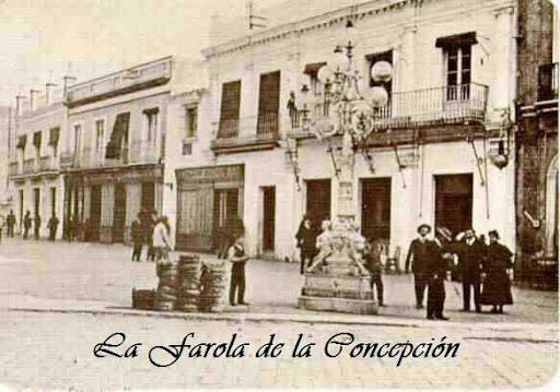 la farola de la Concepción