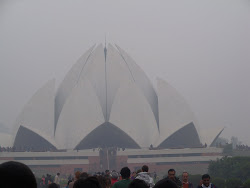 The Bahaai Lotus Temple