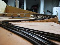 Reduced track grade