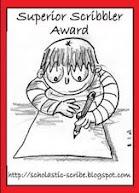 Super Scribbler Award