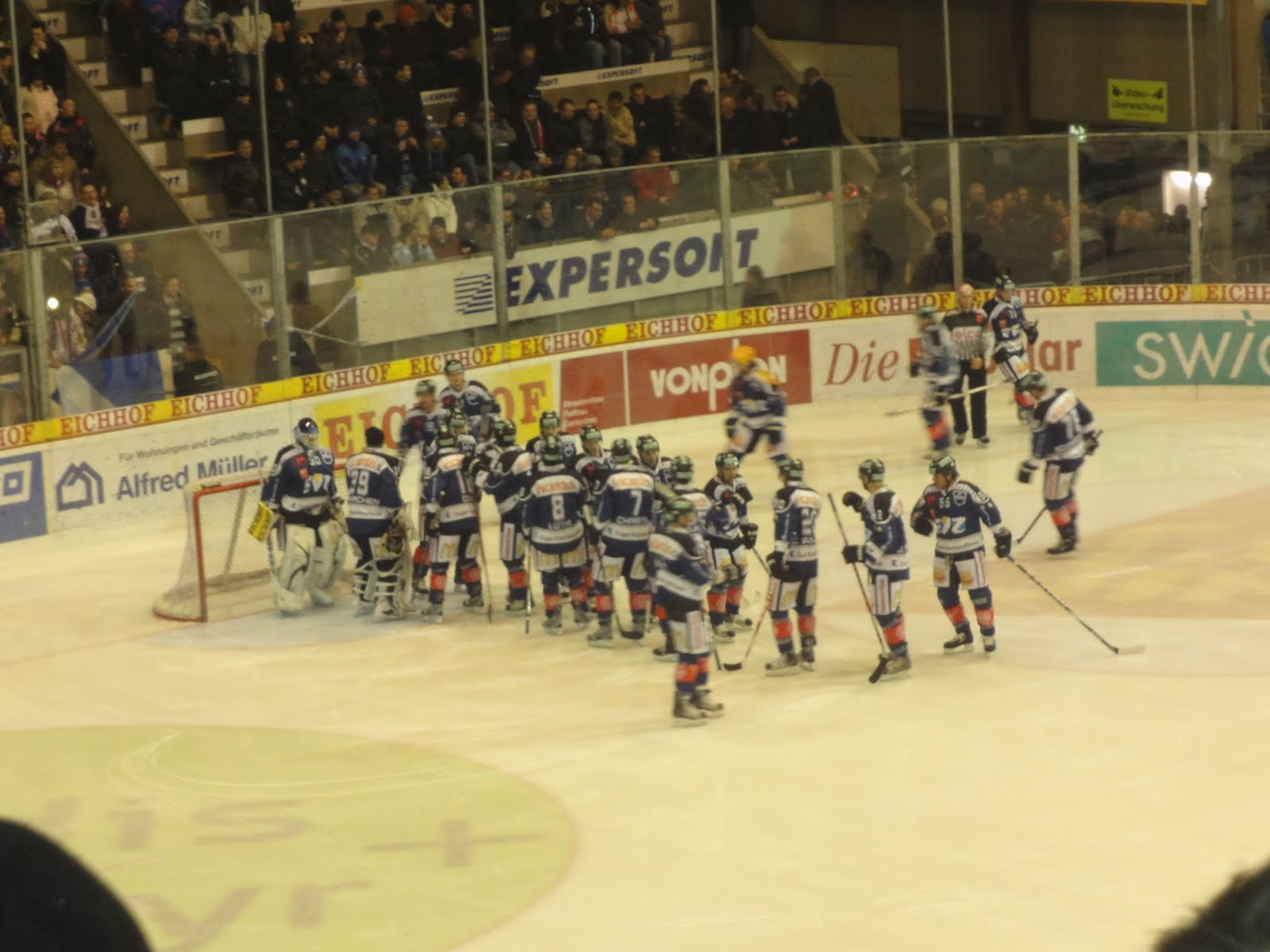 ishockey kamp