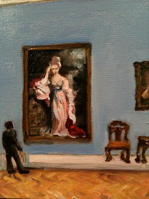 Admiring Gainsborough
