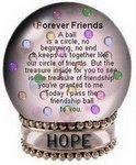 """Forever Friends""  award from a dear friend!"