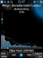 برنامج TTPod 3.3.0 v مشغيل MP3,ogg,acc,mp4,m4a,wma,mid,Amr