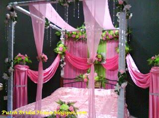 puteh bridal house contoh hiasan bilik pengantin
