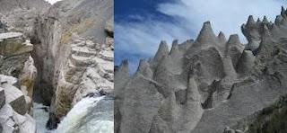 Catarata de Sipia y Bosque de Piedras de Huito - Arequipa - Peru