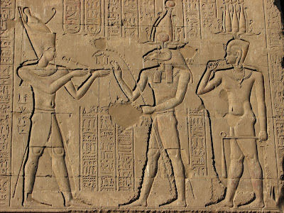 Ancient Egyptians Cutting The Tails Off Cats