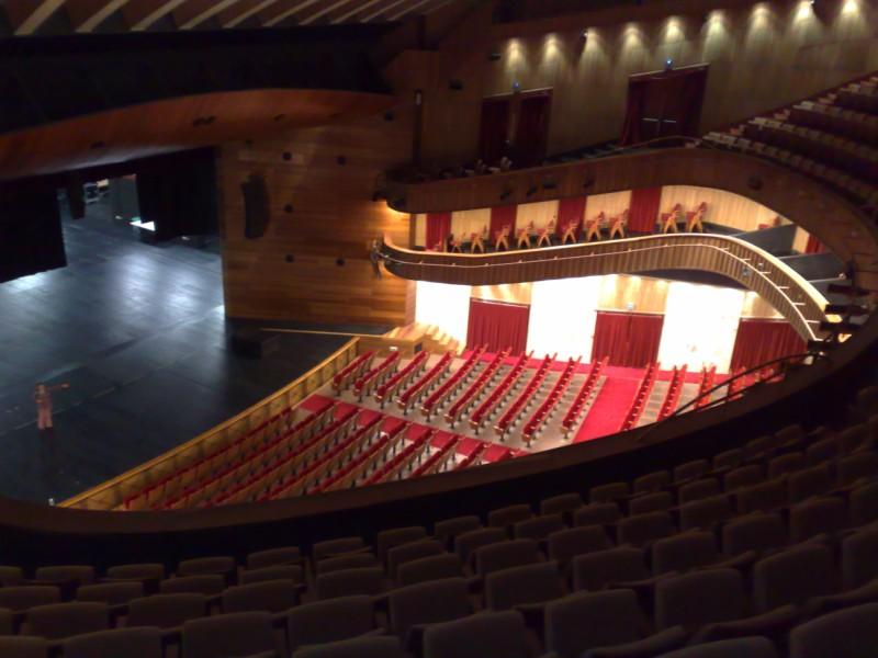 A m me da miedo la universidad laboral de gij n for Teatro de la laboral