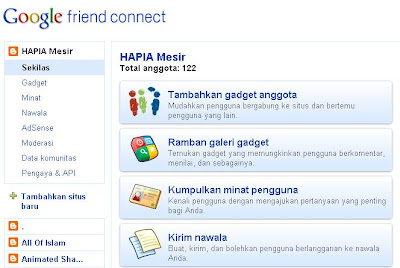 Gadget Komentar Dari Google Friend Connect