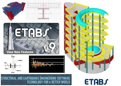 حصريا تعليم ETABS v9 اخر اصدار فيديو