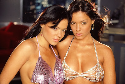 Deisy and Sarah Teles - Miss Playboy Playmate December 2003