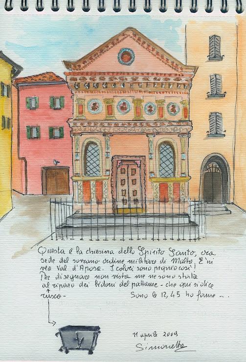 Uno sketchcrawl a Bologna