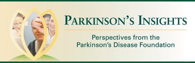Parkinson&#39;s Insights
