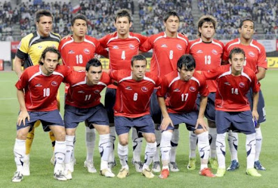 Los 32 equipos que iran al mundial Chile