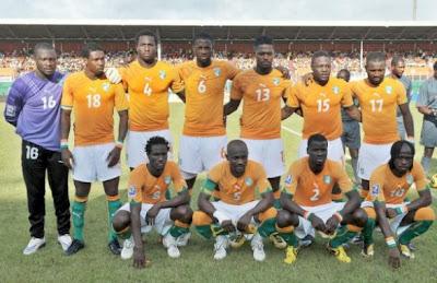 Los 32 equipos que iran al mundial Costa+de+Marfil