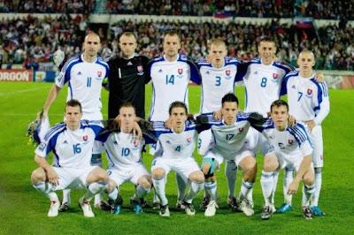 Los 32 equipos que iran al mundial Eslovaquia