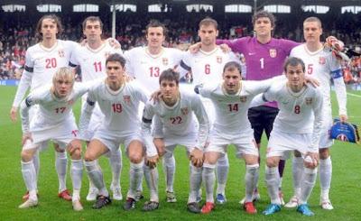 Los 32 equipos que iran al mundial Serbia
