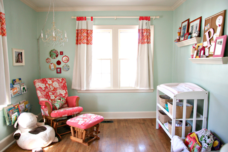 Recipe for crazy blog sweet p 39 s nursery - Rocking chair chambre bebe ...