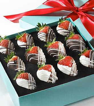 strawberries choclate