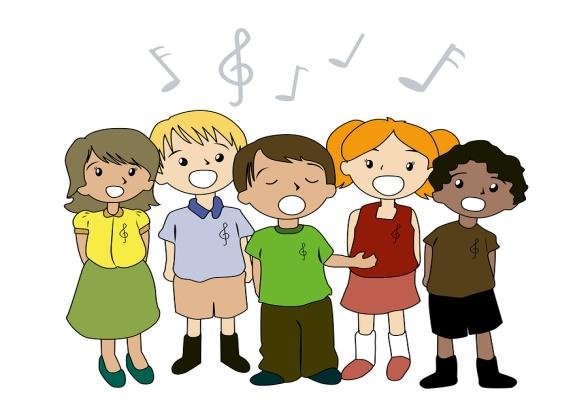 Kids Singing Clipart Patties Primary...