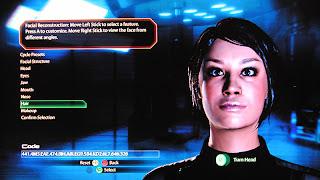 Mass Effect 2(マスエフェクト2)キャラクターエディット
