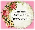 Tuesday Throwdown Winner!