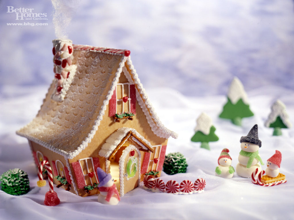 Decorate With Ginger Bread House