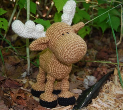 Free Crochet Patterns Moose