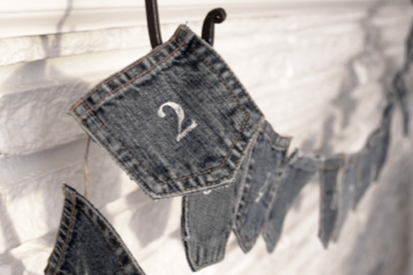 Denim Advent Calendar