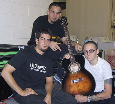 rob, mike y chester