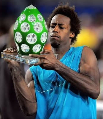 gael monfils shirtless. Gael Monfils the fifth seed at