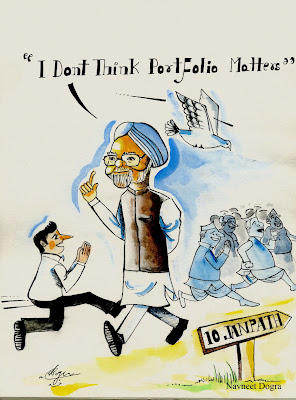 This cartoon is of Indian