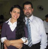 Pr Emerson José e esposa Patrícia